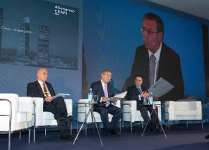 Alejandro Bulgheroni, José Folgado y Antonio Llardén.
