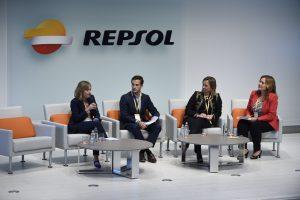 (De izq a drcha)Tona Martínez, Dax Luksic, Elena Pérez-Maura y Asunción Soriano